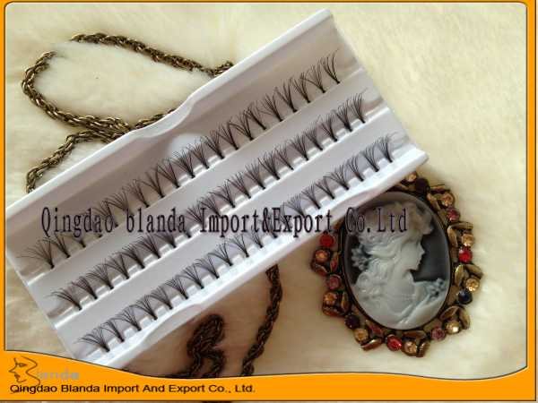 New fashion ! factory price 100% human hair eyelash