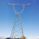 Radio broadcasting tv signal monopole transmission towers