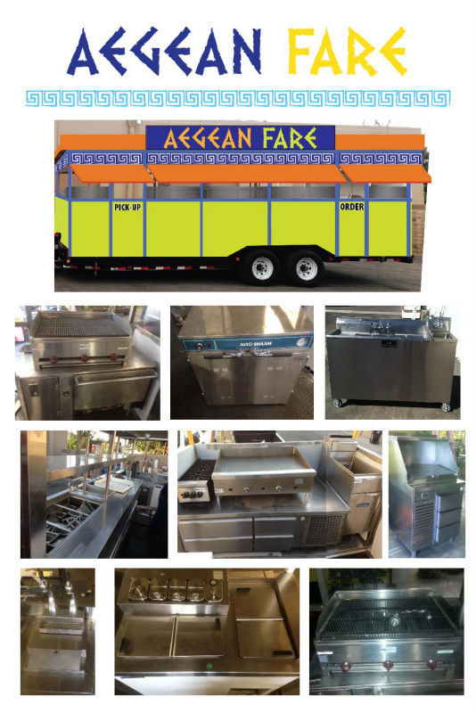 Chef Flex 2400 Series Restaurant On Wheels / Mobile Catering Trailer / Food Truck / Food Trailer