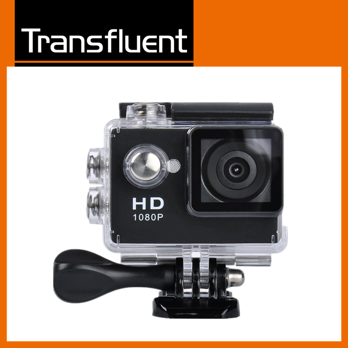 Hd Mini Sport 1080P Manual Action Camera DVR Helmet Waterproof Camera 2inch Mini DV