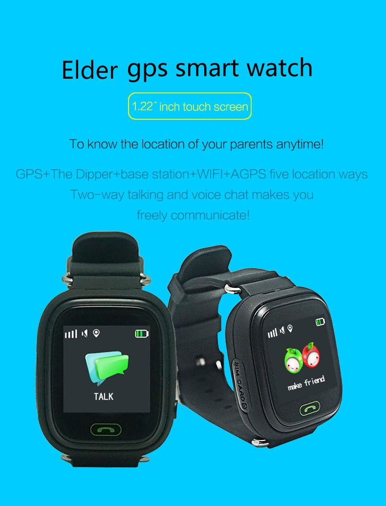 A lovely Gift kids gw300 gps smart watch
