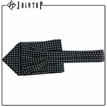 Decoration high quality black cravat necktie