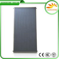 Hot Shower Water Flat Plate Solar Collector High Pressure Flat Plate Solar Collector