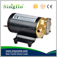 Singflo 24v 14LPM/3.68GPM DC vegetable fuel oil transfer electric waste oil pump