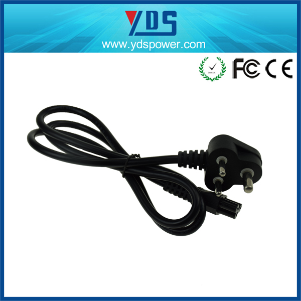 china manufacturer wholesale SA 3 pin AC cable/Power Cord 3 prong suffix 1.2M