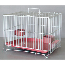 Small Pet Cage Plastic Home Folding Rabbit Wire Cage