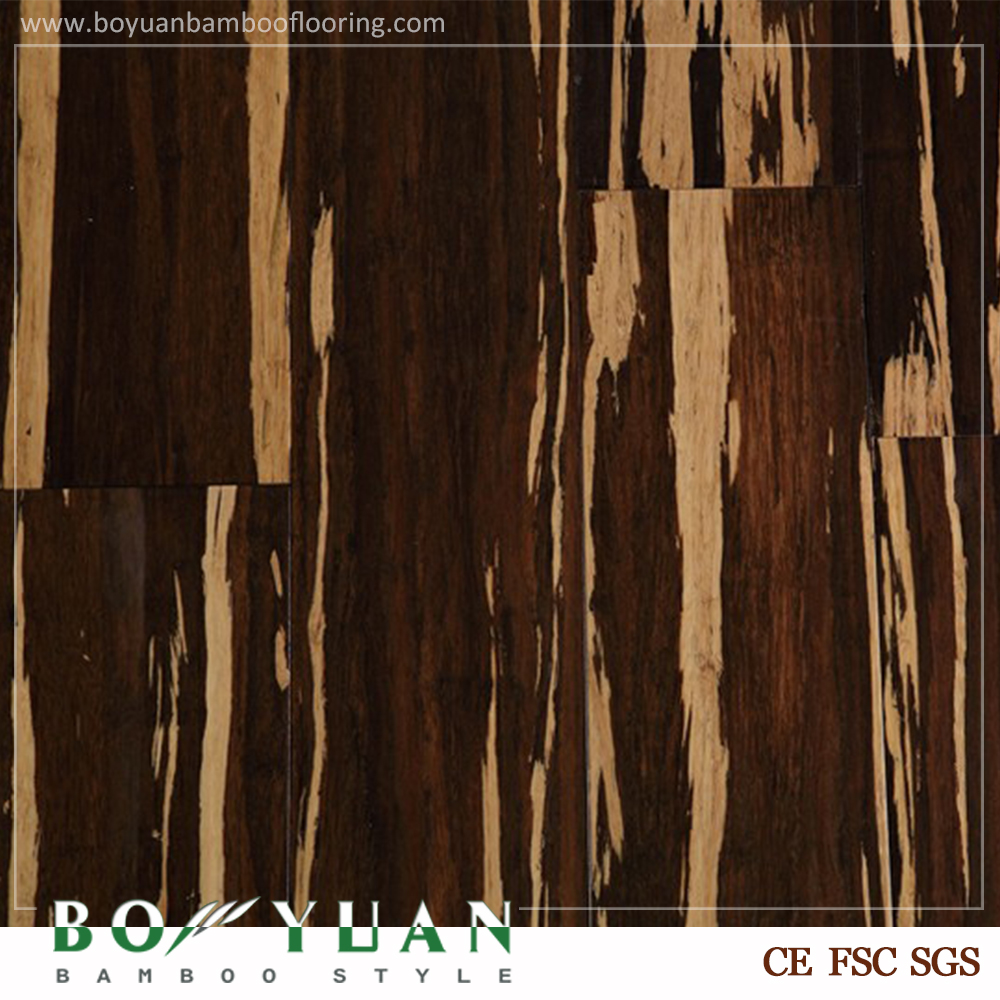 Reasonable price bamboo shower floor with tiger strip