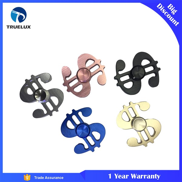 New Products Small US Dollar Fidget Spinner, Aluminum Alloy Finger Gyro