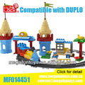 FUNLOCK Duplo Train Building Block Toys for Children New Year Gift 2014