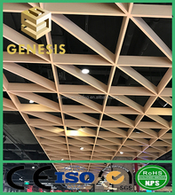 Customized color Open cell grid aluminum ceiling