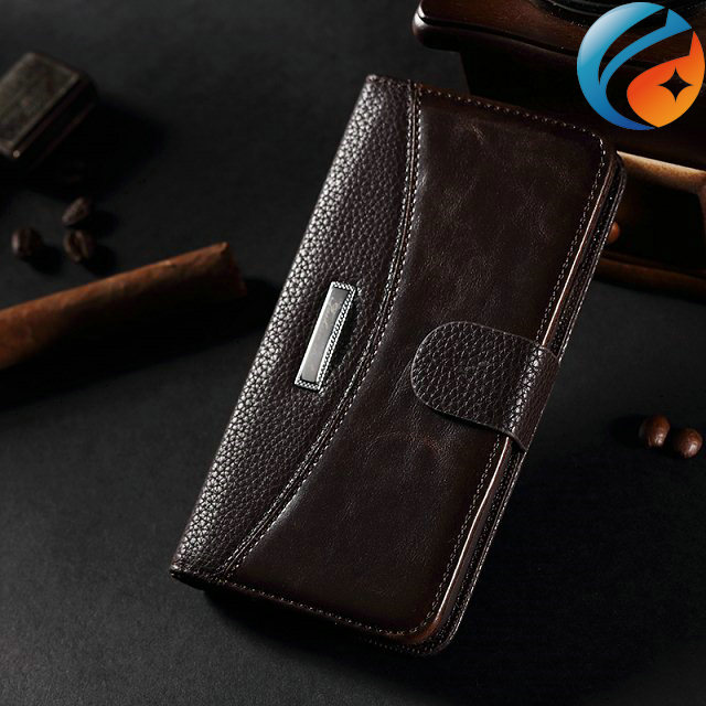 Free Shipping Card Holder Leather Wallet Case for Samsung Galaxy S5 I9600
