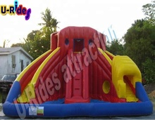 inflatable spiral water slide