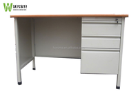 Office/School/Home Metal Computer Writing Desk/Table with Drawers