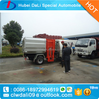 Dong feng 1 ton hermetic garbage dump collection tuck for low price