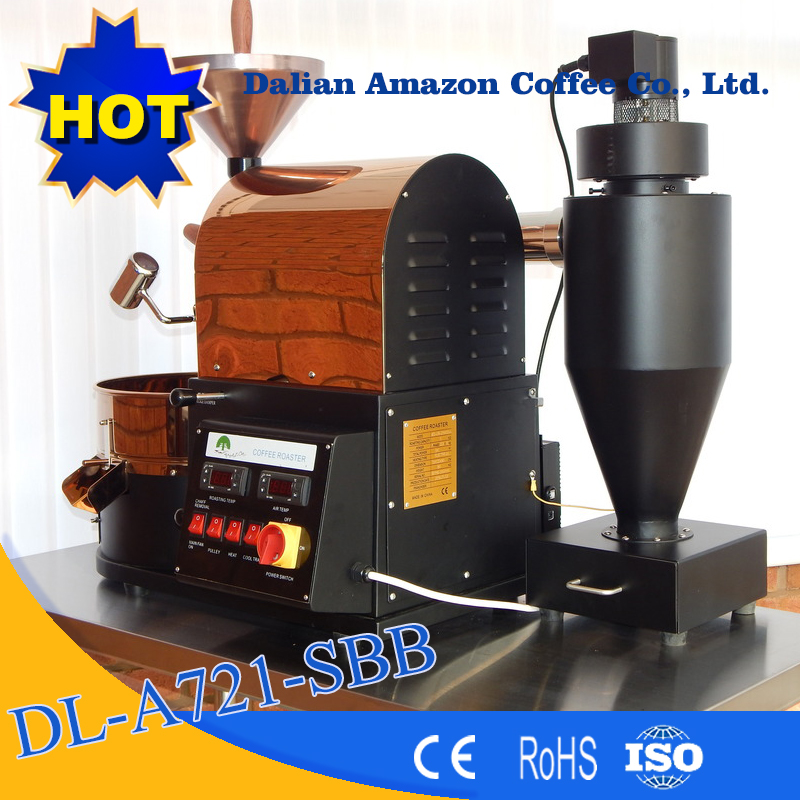 China Manufacturer 1 kg coffee roaster/Red coffee roasting machine for home and shop use/coffee bean roasters