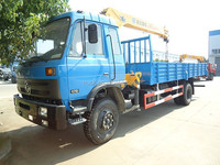 mobile workshop crane,lorry truck with crane 10 ton