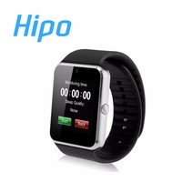 Factory Price Wholesale 2016 GT 08 GSM Phone Android Bluetooth Touch Screen Smart Wrist Watch with SIM Card