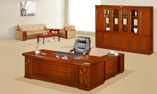 Walnut Wooden Executive Office Furniture/Package Solution Of Commercial Furniture Supplier (FOHK-2434# )