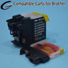 Compatible Ink Cartridge LC975 LC980 LC985 LC990 LC1100 for Brother Inkjet Printer