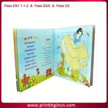 Custom 2014 perfect bound book children soft cover books with fsc paper