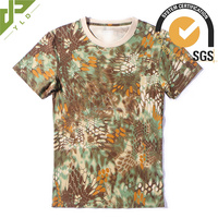 camouflage breathable army green tee shirts