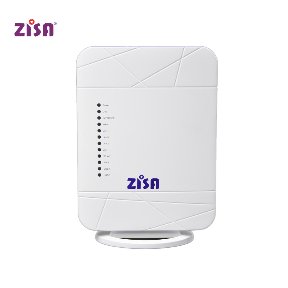 Zisa VDSL Router 4FE+1GE,USB,WIFI 300Mbps for Home networking