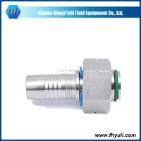 stainless steel end cap,brand names hydraulic hose,sleeve nut