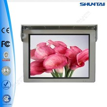 22 inch wireless tv digital stand alone advertising bus lcd