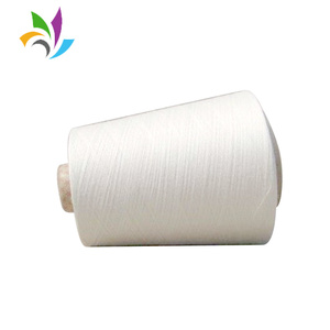 OEM new 21s 24/1 100 polyester ring spun yarn with price