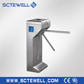 RFID waist height access control tripod turnstile for turnike solution