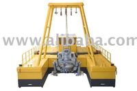 Cutter Dredge for Sand, Gravel and Mining applications