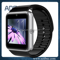 New product GT08 smart watch phone For Android/IOS touch screen sim card with camera