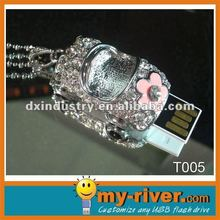 Summer promotional heart shape usb
