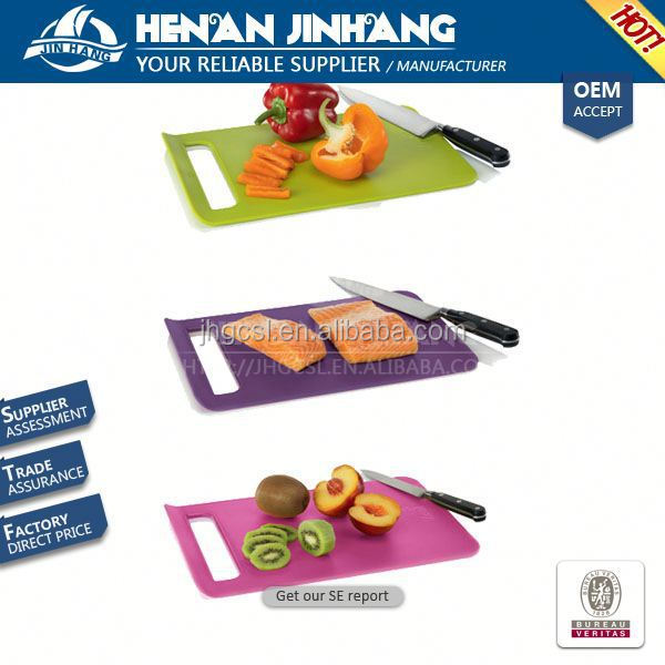 FDA quality map shaped fruit cutting board manufacture