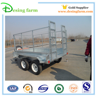OEM factory aluminum cylinder tipping trailer for sale