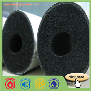 HVAC Used Rubber Foam Insulation Pipe