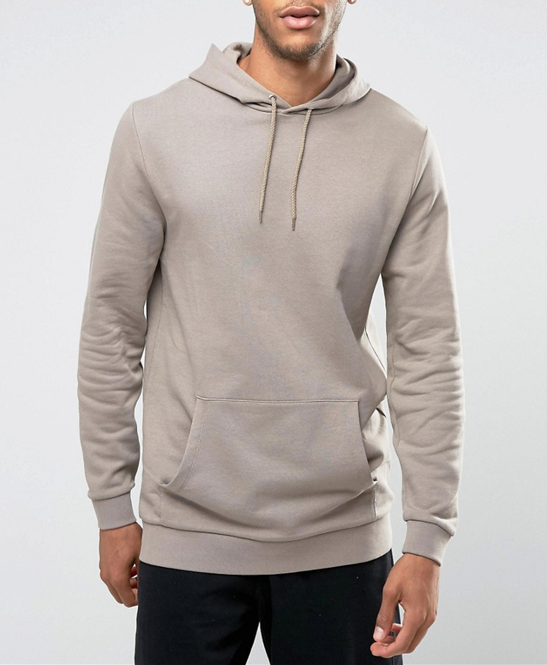 quality control OEM service low price sweat wholesale man's plain Longline Hoodie