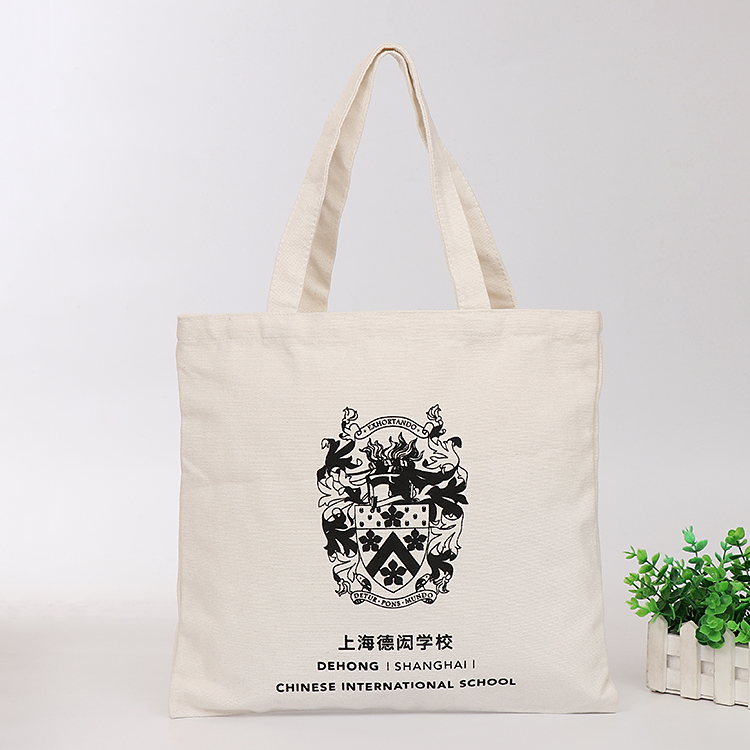 12zo high-end hot stamping 100% cotton canvas bag/tote shopping cotton pouch