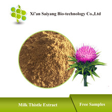 Organic Milk Thistle Extract , Price Silymarin Extract Powder