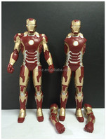 2015 Newly designed resin collectible iron man toys for sale
