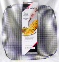 Qicka chip & pizza mesh oven tray basket for crisper chips &pizza bases