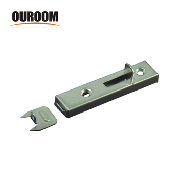 Ouroom OEM wholesale products 160212 steel material door barrel bolt with strike and screws