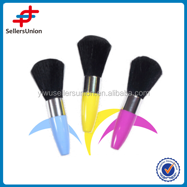 Plastic make up brush,mini cosmetic brush