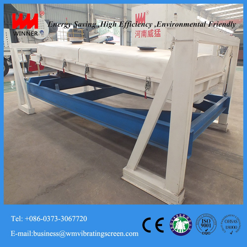 China Carbon Steel Square Vibrating Screen for Phosphoric Acid Fertilizer