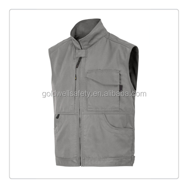 Hunting winter padded embroidered mens vests waistcoats