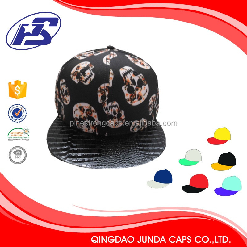 snapback top fedora caps for men