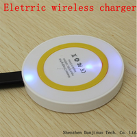 Cheapest Price Portable Mini Qi Wireless Charger for Samsung Galaxy S4 and Iphone 6