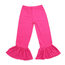 Girls Boutique Baby Leggings Wholesale Ruffled Pants