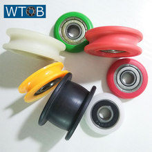 White Plastic Coated Deep Groove Ball Bearing