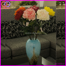 PU wholesale wedding artificial peony giant flower decoration
